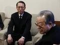 김종필 전 총리와 김기춘 비서실장
