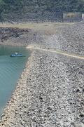 바닥드러난 소양강댐