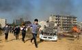 서울에 대형 지진 발생 '대피하라'