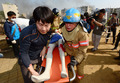 지진발생 '인명을 구조하라'