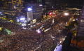 대한민국 민주주의 밝히는 촛불