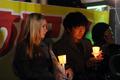 외국인도 참석한 촛불집회