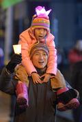 추위도 녹이는 촛불 시위