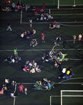 대피한 경주 시민들