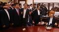 고성 오가는 국회의장실