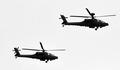 국군의날 리허설 '편대비행하는 아파치 가디언(AH-64E)'