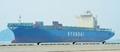 한진해운 첫 대체선박 현대상선 현대포워드호 접안