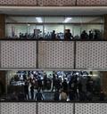 [국감]자료준비중인 피감기간 공무원들