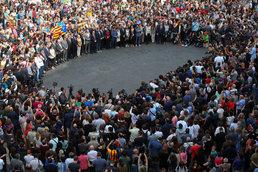 카탈루냐 독립투표 '스페인으로부터 독립국 권리 쟁취'