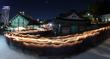 봉은사 밝힌 수능 촛불행렬