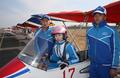 [평양은 지금] 여성 경비행기 비행사