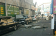 포항 5.4 지진, 자동차 덮친 건물 외벽
