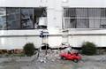 지진 피해 직격탄 맞은 포항 대성 아파트