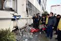 지진으로 외벽 붕괴, '현장 찾은 이낙연 총리'