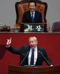 트럼프 美 대통령 '北체재, 진실 두려워 해'
