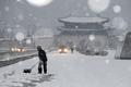펑펑 내리는 눈