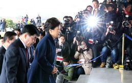 박근혜 전 대통령 검찰 출석하던 날