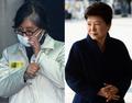 검찰출석 박근혜,법정출두 최순실