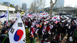 중앙지검 앞 태극기집회