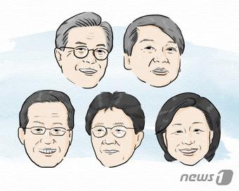흥미진진 대선 본선 개시…후보·단일화·돈, 울고 웃을 3대변수