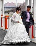 평양의 신혼부부