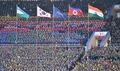 김일성 경기장의 태극기