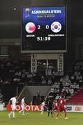 충격적인 스코어 '0-2'로 끌려가는 대한민국 축구대표팀