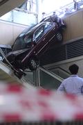 아찔한 사고 일산백병원 사고현장