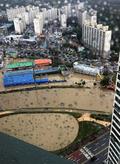 물폭탄 쏟아진 청주는 물의 도시