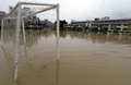 '학교 운동장 폭우 피해'