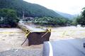 홍천군 시간 당 50㎜ 폭우...가덕교 무너져