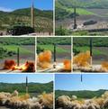 北 노동신문이 공개한 ICBM 화성-14형 발사장면