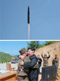 北 ICBM 화성 14호 발사 성공