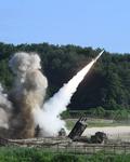 동해안에서 불 뿜는 한·미 미사일