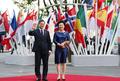 문재인 대통령 내외, G20 문화공연 참석