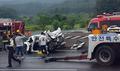 경부고속도로 6중 추돌사고 발생