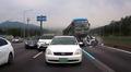 경부고속도로 사고, '무섭게 돌진하는 버스'
