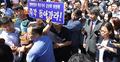 주민들 반대에 부딪힌 신고리원전 공론화위원회