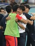 신태용 감독 '월드컵 함박 웃음'