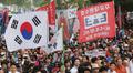 강남거리 가득 메운 자유한국당