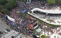 코엑스광장에 모인 자유한국당
