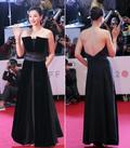이하늬, 부산국제영화제 드레스...'앞은 가리고 뒤는 트고'
