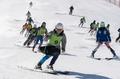 마식령스키장에서 공동훈련하는 남북 스키대표팀
