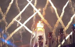 평창동계올림픽 개막 '평화의 불꽃 타오르다'