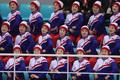 '미모 뽐내는 북한 응원단'