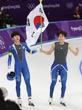 이승훈, 남자 매스스타트 올림픽 '초대 챔피언'에 등극