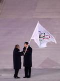 '베이징 동계올림픽 잘 부탁합니다'