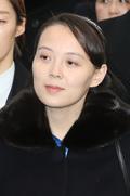 평창올림픽 개회식 향하는 北 김여정