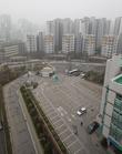 수도권 미세먼지 비상저감조치 '한산한 주차장'