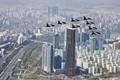 63빌딩 위 날으는 공군 블랙이글스